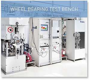 WHEEL BEARING TEST BENCH