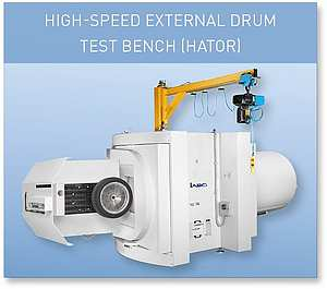 HIGH-SPEED EXTERNAL DRUM TEST BENCH (HATOR)
